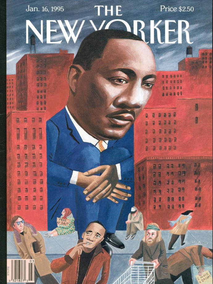 Martin Luther King, Jr., on our cover, through the years: https://t.co/yRnqIBWU4k https://t.co/3t9GDIUDov