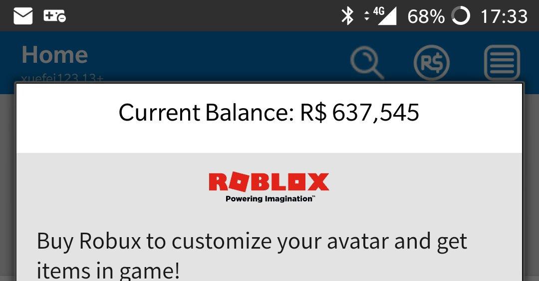 Avatar Robux Robux 2018 Roblox Xuefei On Twitter Flexin Robux Emirattirbx U Think Ur So Rich Roblox