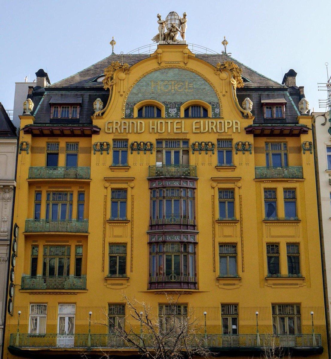 Wes Anderson On Twitter Grand Hotel Europa Prague Czech Republic Accidentalwesanderson