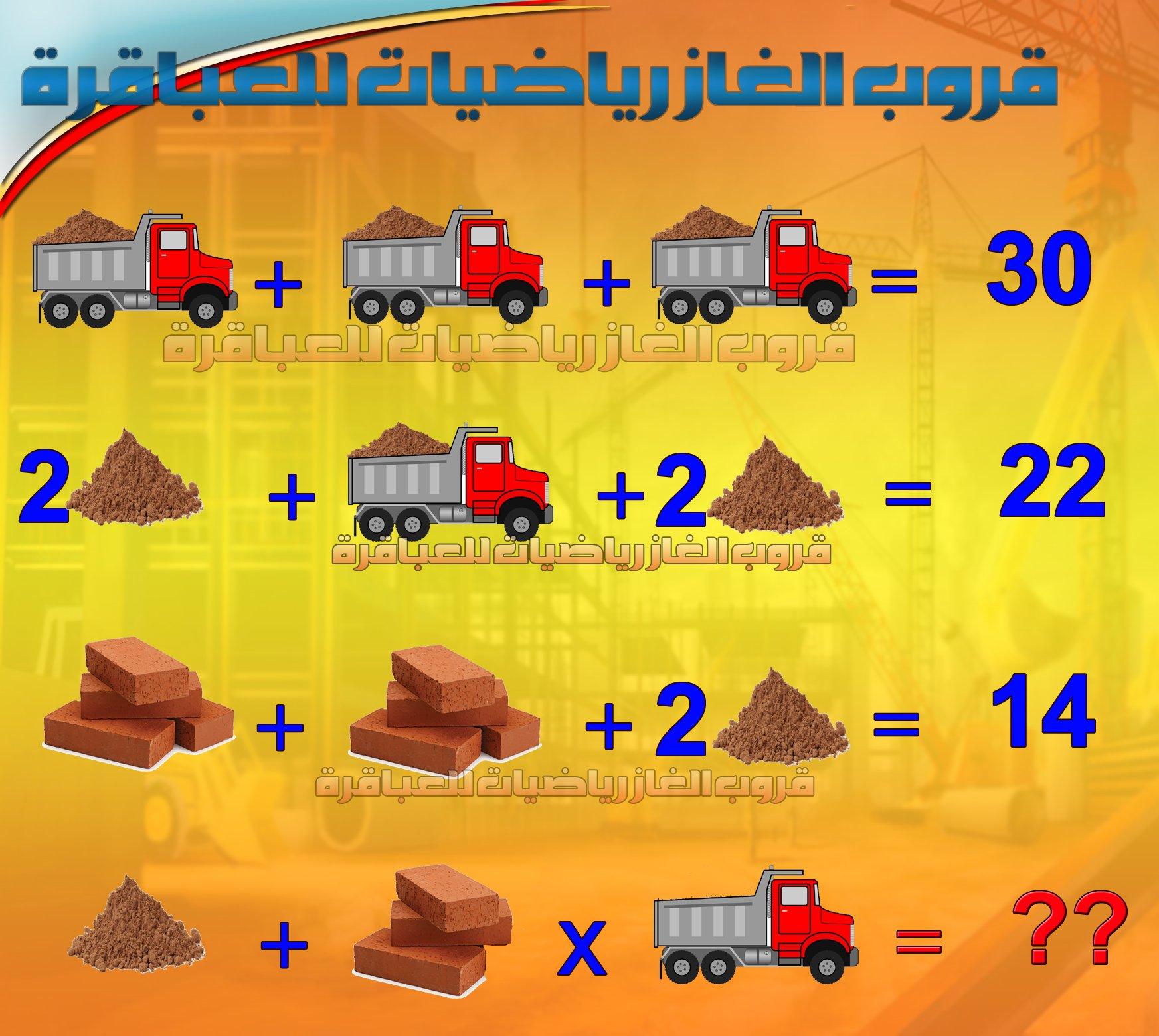 قروب الغاز رياضيات للعباقرة