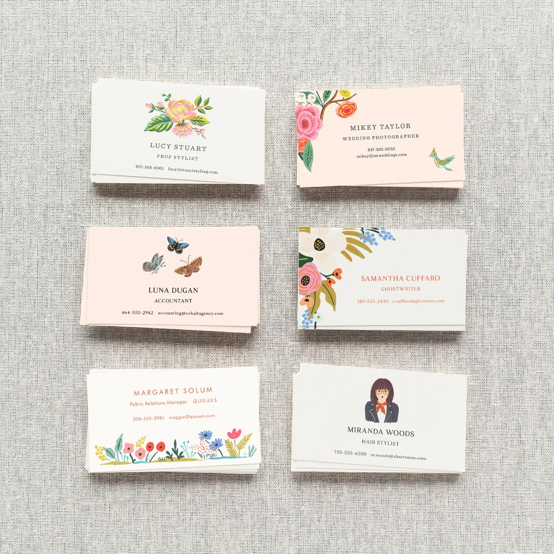 rifle paper co on twitter make a first impression explore our personalized calling cards at httpstco39d3oxatrd riflepaperco - Personalized Calling Cards