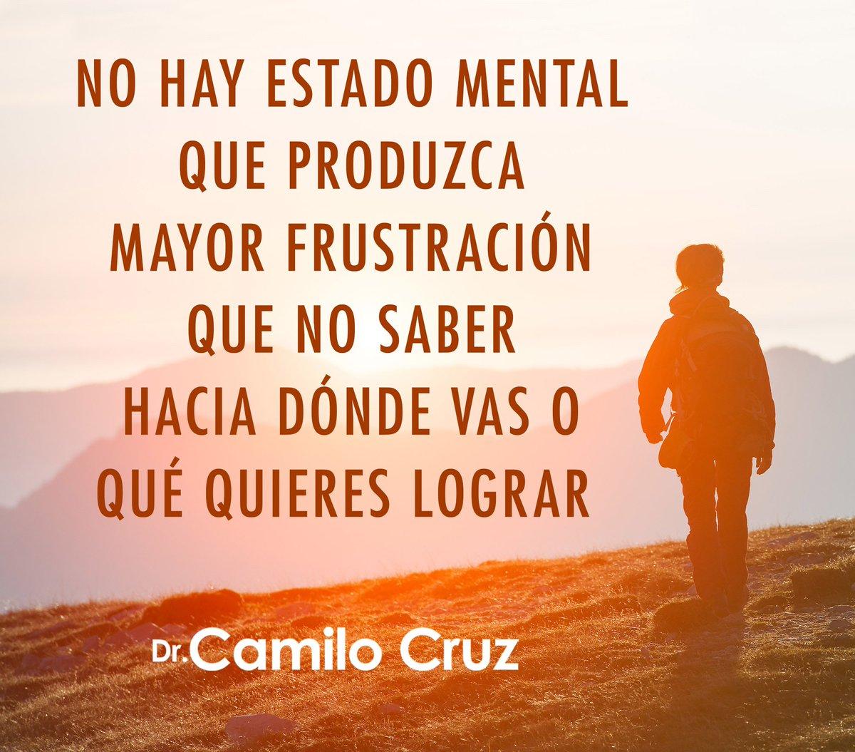 Camilo Cruz در توییتر No Hay Estado Mental Que Produzca