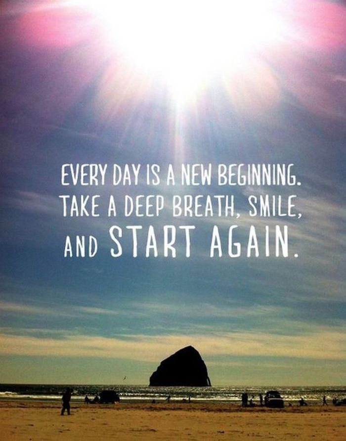 Positive Quotes On Twitter Every Day Is A New Beginning