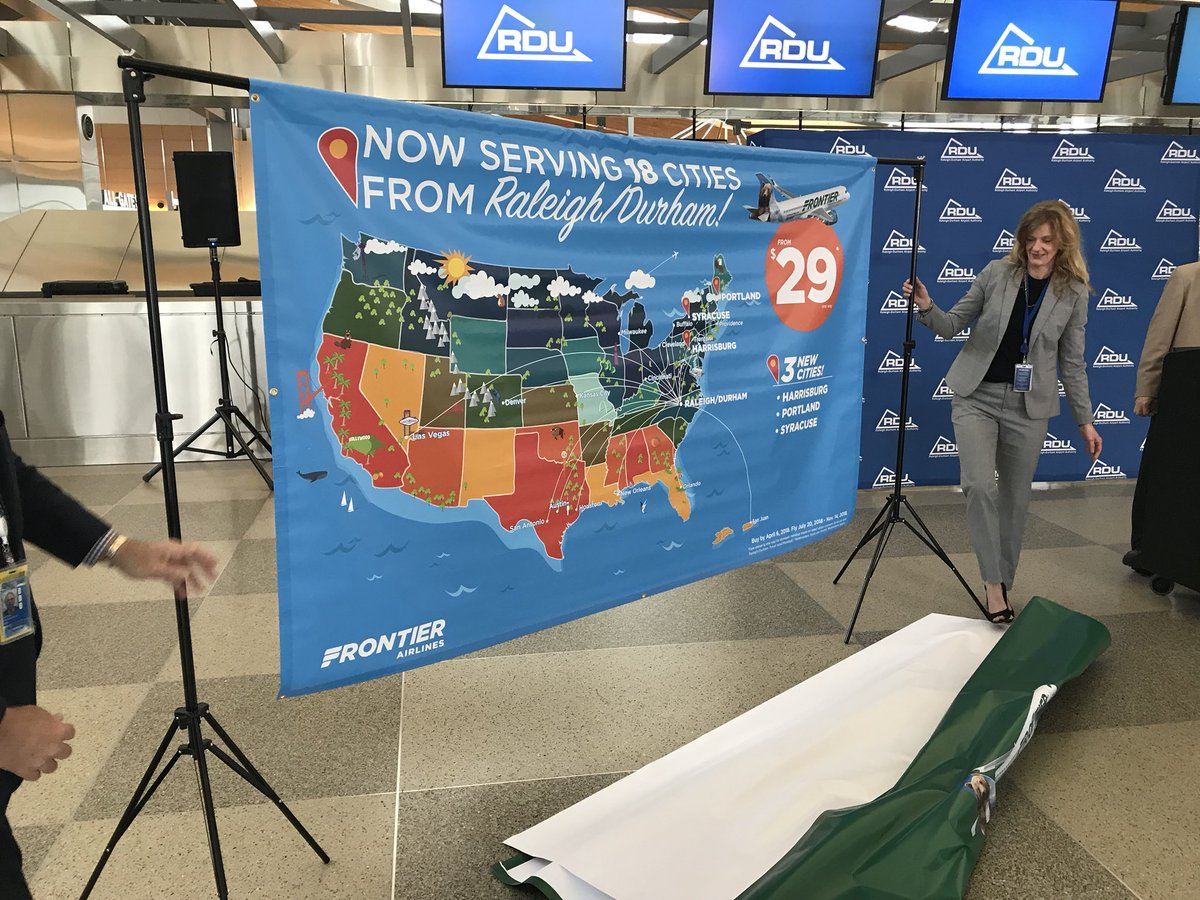frontier airlines syracuse