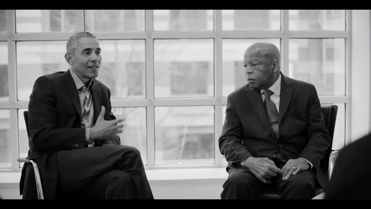 This week—50 years since Dr. Martin Luther King, Jr. was killed—@BarackObama and @RepJohnLewis sat down with a group of young men for an @MBK_Alliance roundtable to talk about Dr. Kings legacy and the courage it takes to stand up for what you believe in: go.obama.org/mlk50