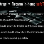 Image for the Tweet beginning: Gun safety should be the