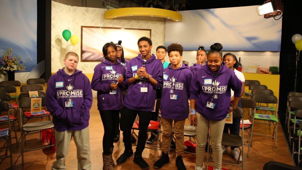 ✨Lights 🎥 Camera 🎬Action! Our 6th Graders are on and behind the scenes at our favorite news station @WKYC! Students are spending the day exploring the various positions that help bring News & Entertainment to your television screens. #WeAreFamily #IPROMISE