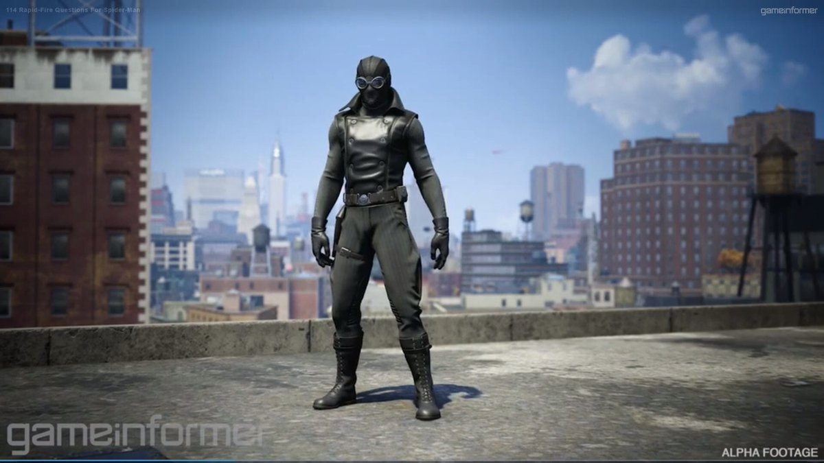 "discussingfilm on twitter: ""spider-man noir will be an unlockable"