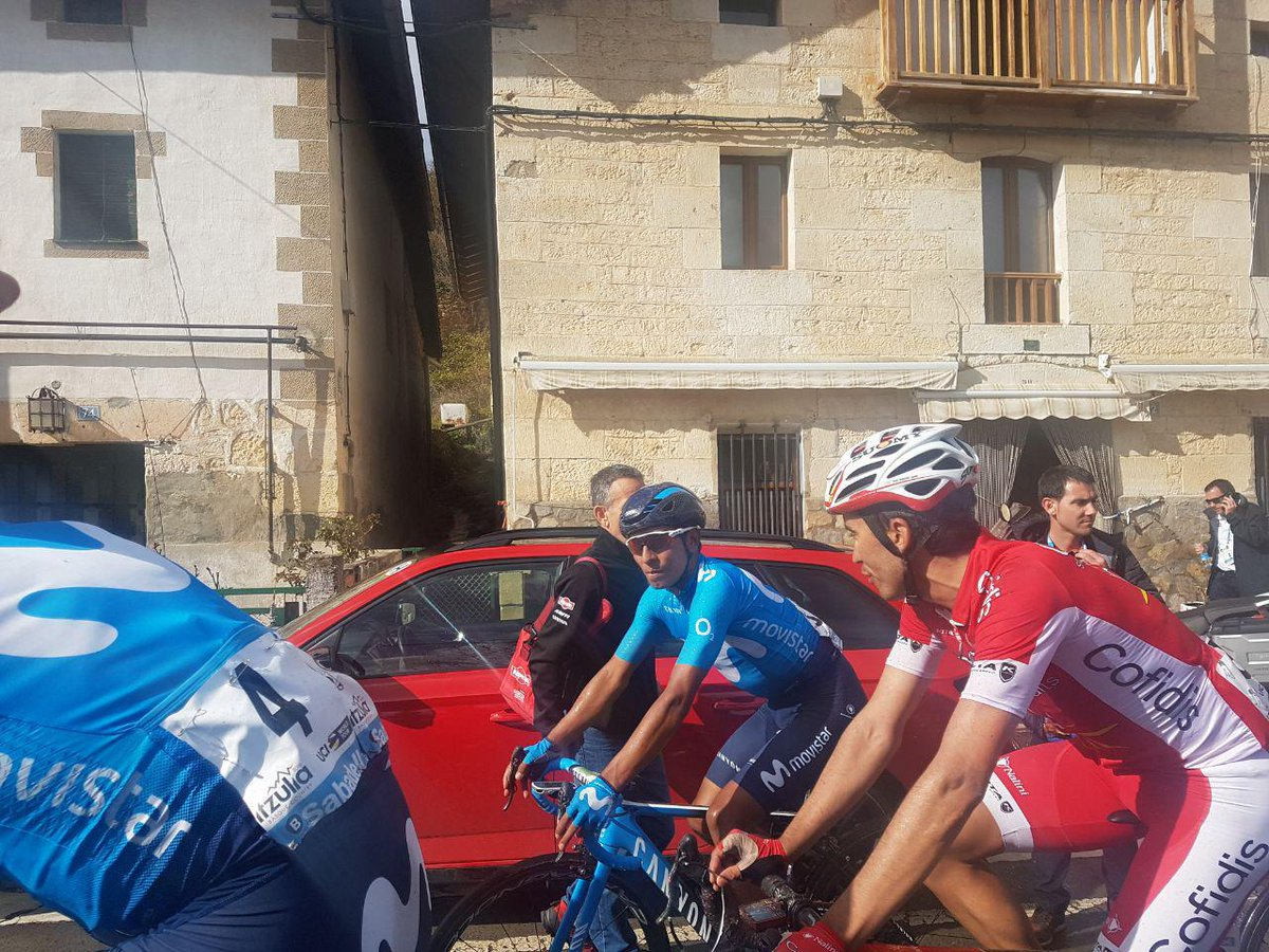 Nairo Quintana, en la Vuelta al País Vasco