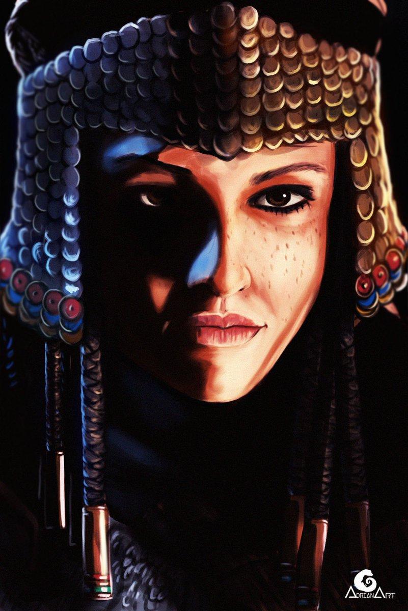 Adrian Art On Twitter Amunet Portrait Assassin S Creed Origins