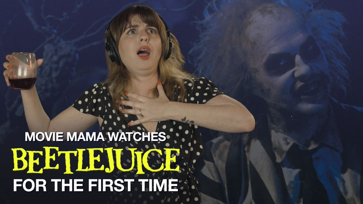 . @danceswithtamis is horny for Beetlejuice https://t.co/vmRQxPajzE