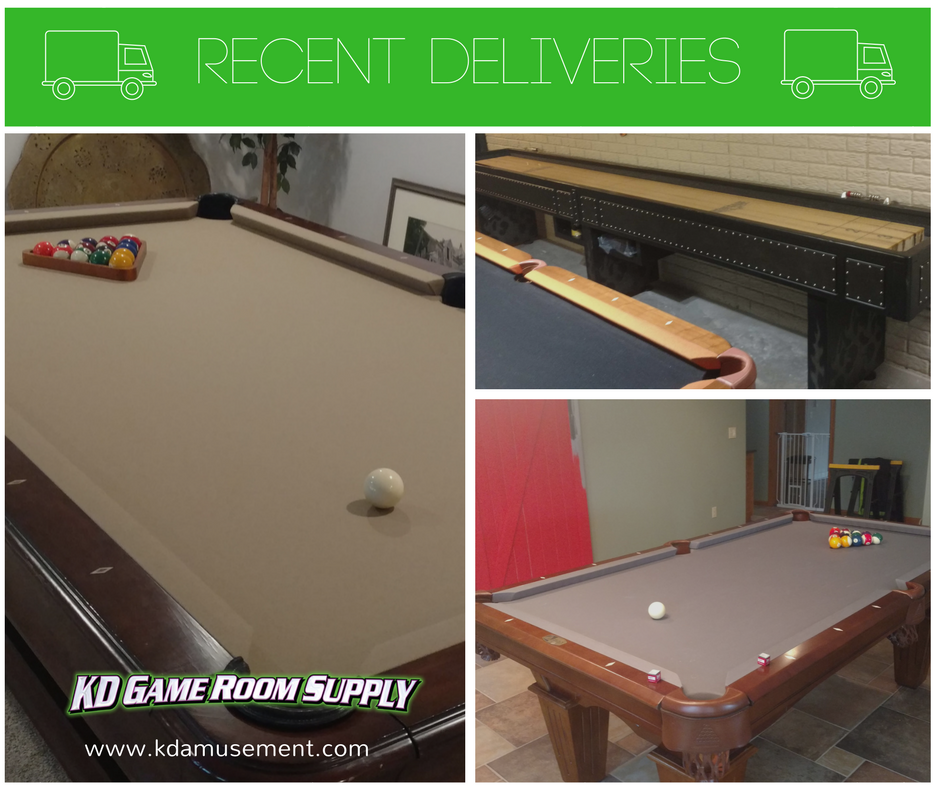 KD Game Room Supply KDAmusement Twitter - Thomas aaron pool table