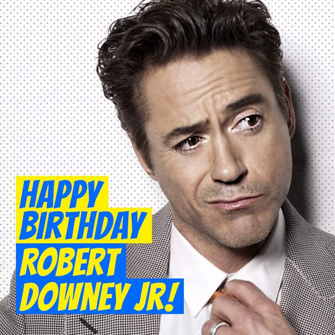 He\s beauty, he\s grace. He\s the one and only Robert Downey Jr. Happy 53rd birthday RDJ!