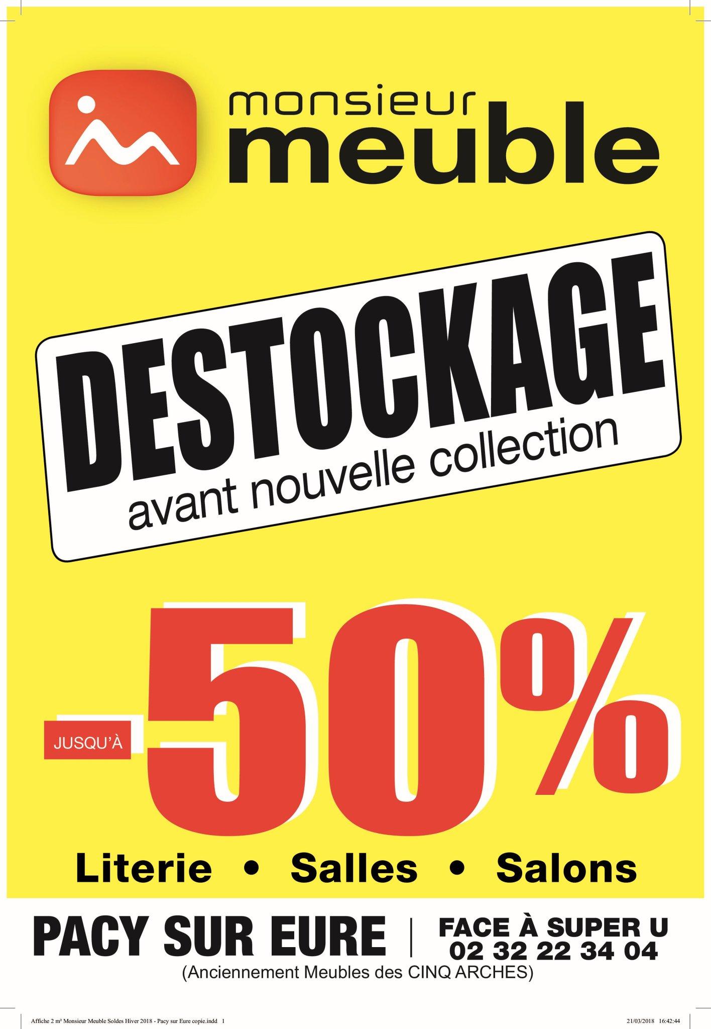 Monsieur Meuble Pacy On Twitter Grand Destockage Chez