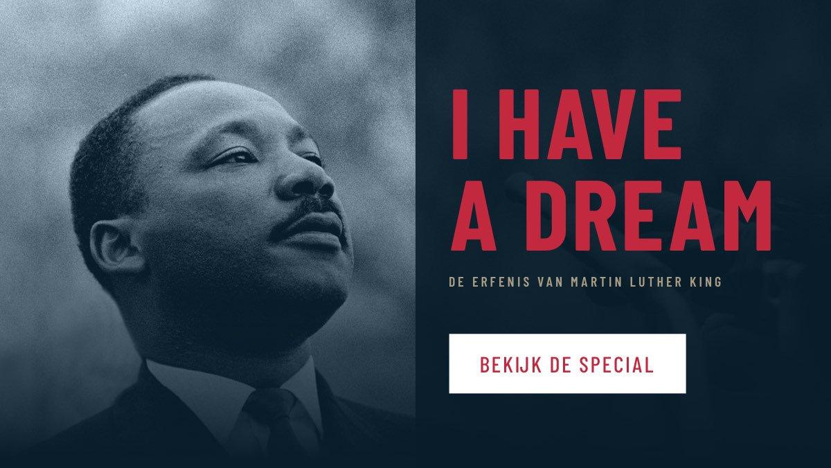 Nos On Twitter Martin Luther King Inspireerde De Wereld