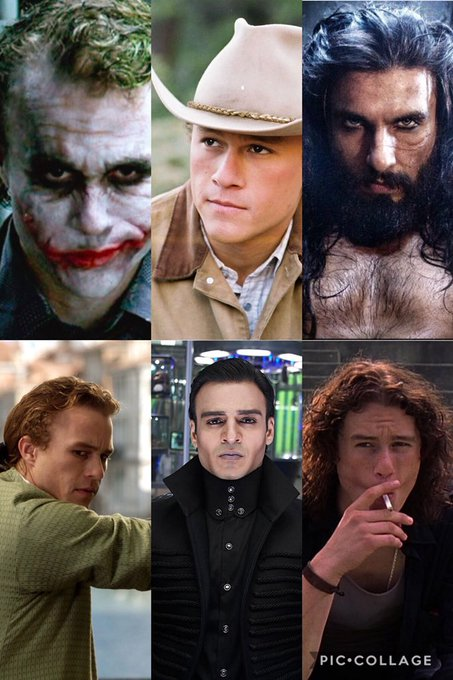 Happy birthday Heath Ledger.  These are my favorite performances of his. Whats urs?