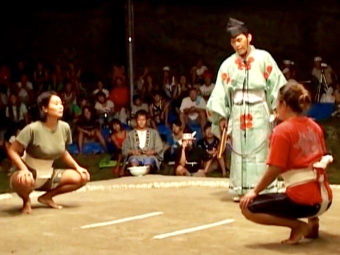 女子相撲と女相撲 大相撲の土俵女人禁制 とその歴史