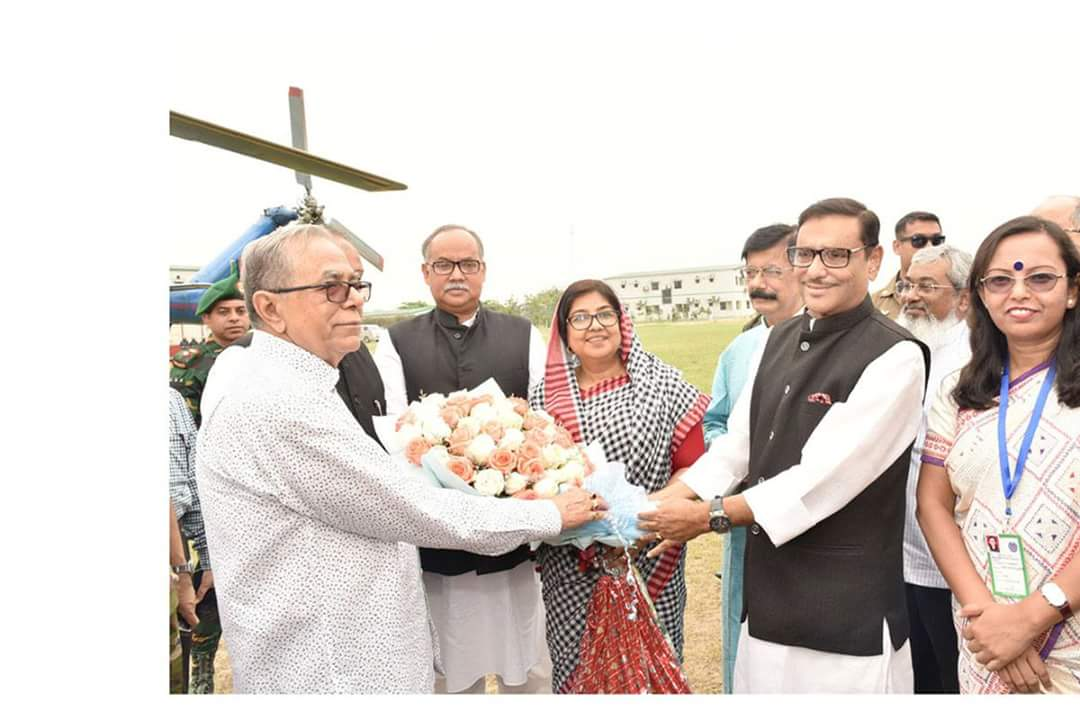 Hounarable President visiting Padma bridge construction 03.04.2018 https://t.co/w6pc9L22QP