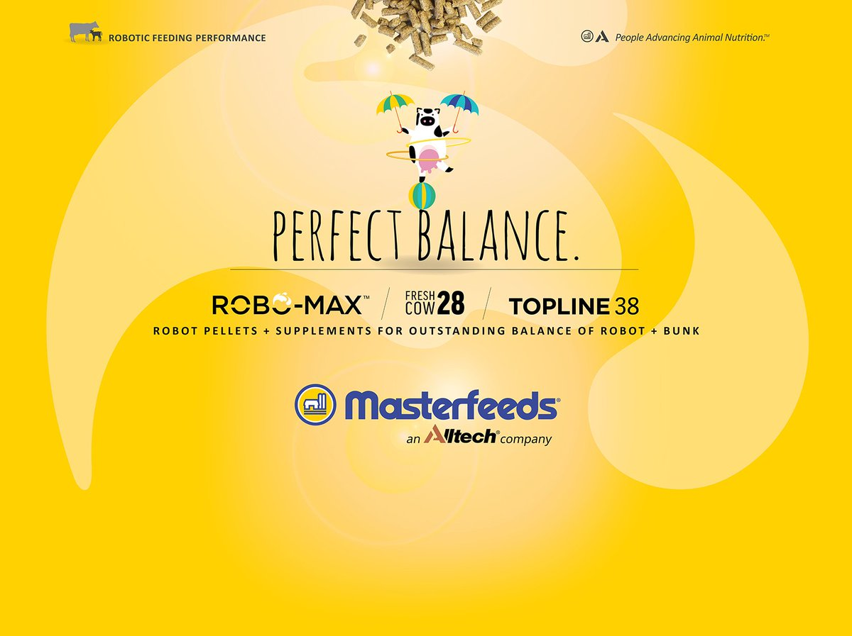 Busy day at #CDX2018 @CDX2018 Come by for your chance to &quot;Balance and WIN!&quot; -- Balancing your robot and bunk is the key to robotic feeding success. We can help. #roboticdairy #perfectbalance <br>http://pic.twitter.com/rp6D3hg1B8