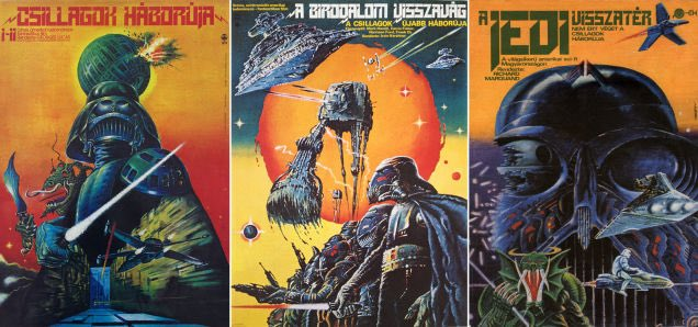 The Hungarian #StarWars movie posters fo...