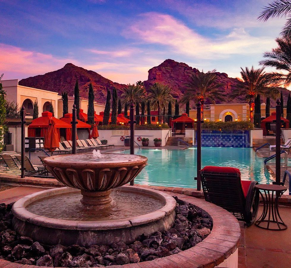 #Scottsdale resorts are simply stunning. 😍 https://t.co/woQhy37Swy  📷 : @OmniMontelucia by Instagrammer @benny.elliott https://t.co/ooSb8Zs6iS