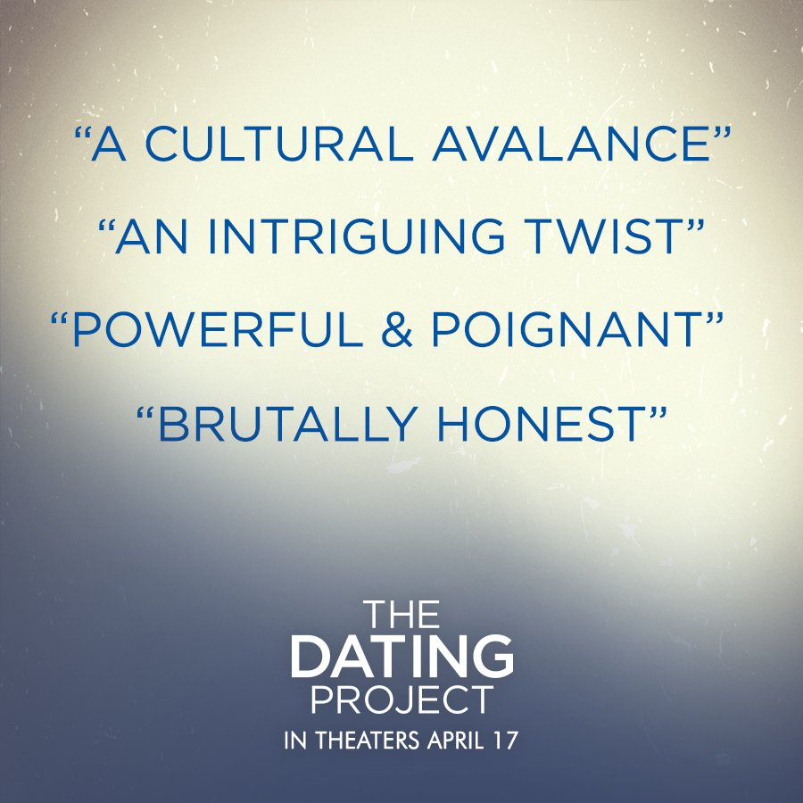@dating_project follows five single people seeking real love in the hook-up  culture.pic.twitter.com/m4pvLl0Row