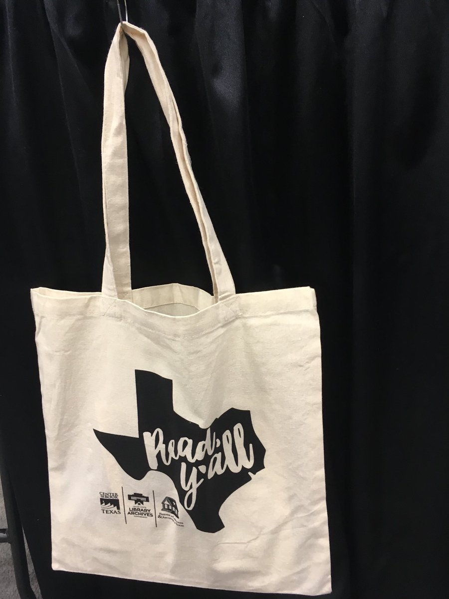 """""""Read Y'all!"""" Hey @TXLA attendees come visit booth #2406 for your #readyall  bags! We will fill them with #library #resources & you have a chance to win  a ..."""