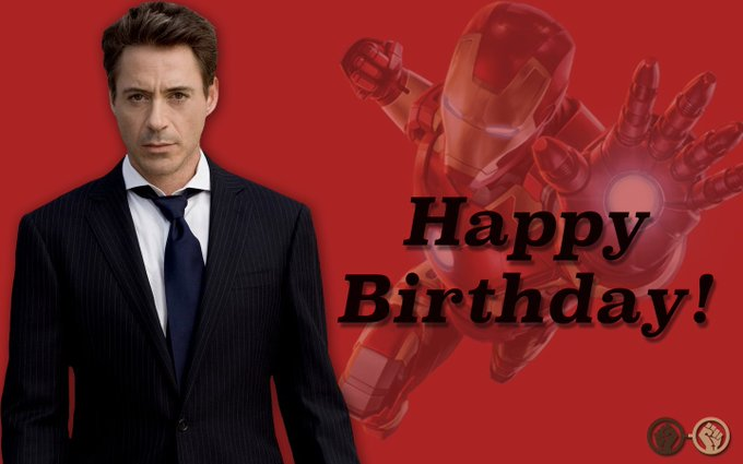 Happy Birthday to our very own Iron Man! Robert Downey Jr. turns 53 today!