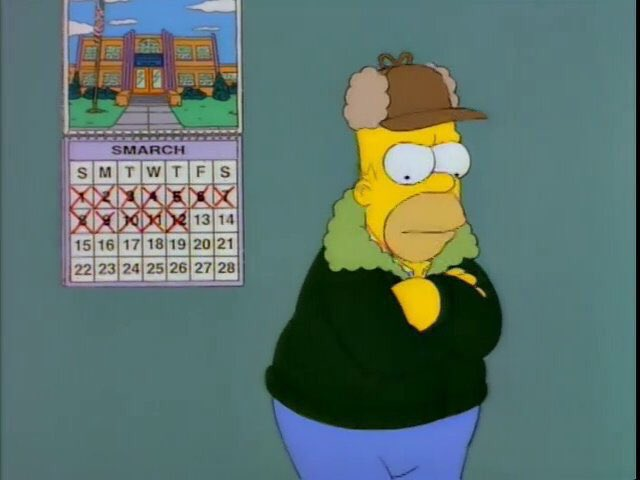 """""""Lousy Smarch weather..."""""""