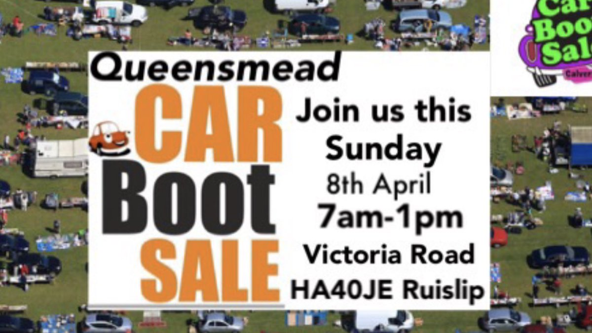 Calvers Car Boot Sales On Twitter Queensmead Giant Car Boot Sale