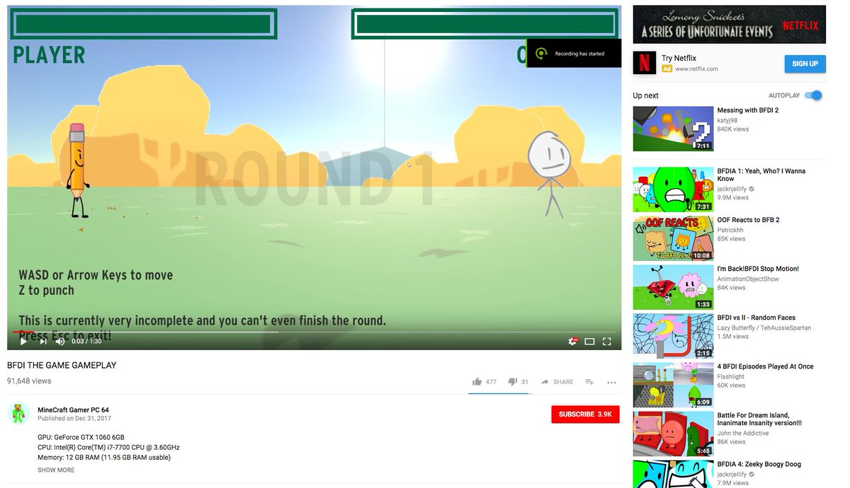 Battle For Bfdi Game