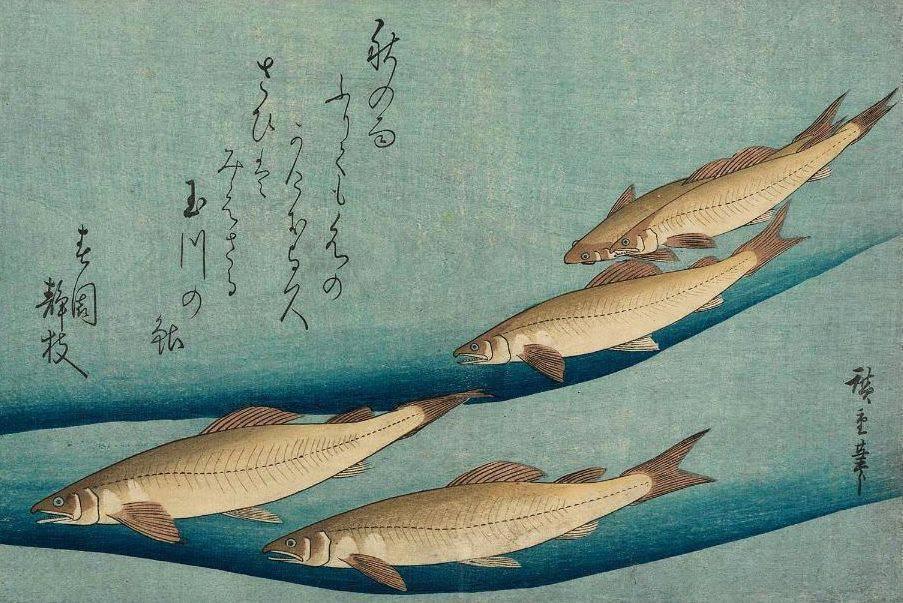 Utagawa Hiroshige, woodblock print, 1833...