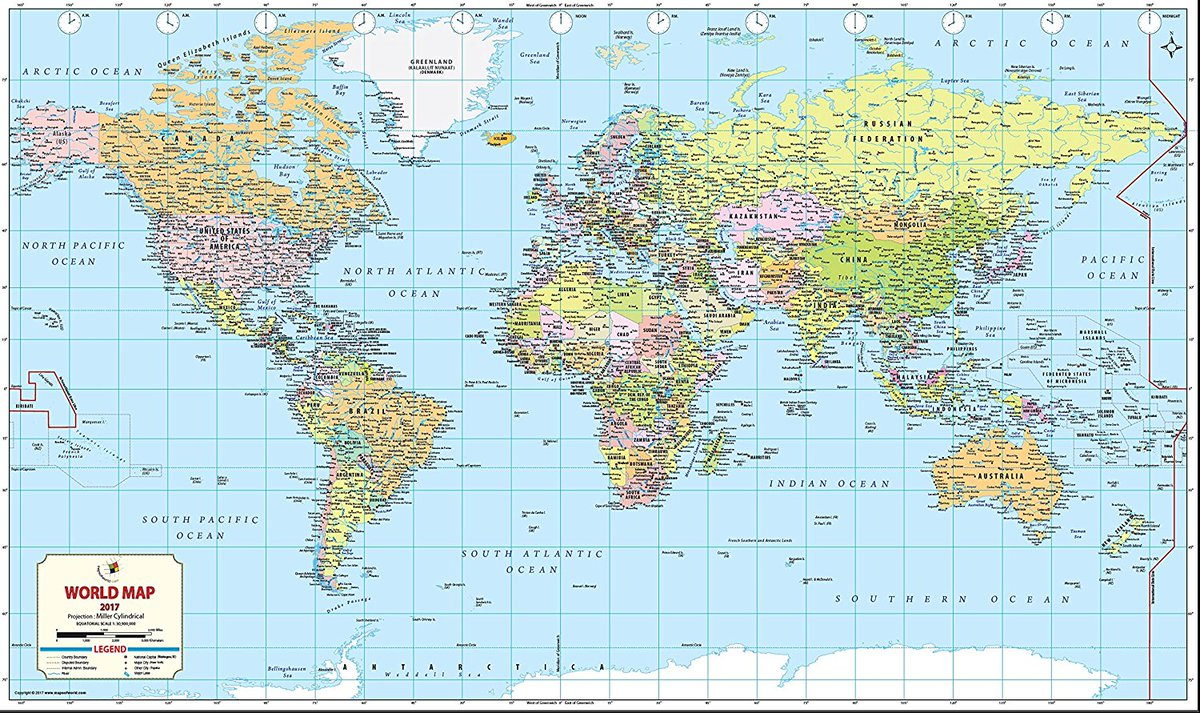 Image of: Mow Amz On Twitter A Stunning Map Of The World With Detailed Geographical Features For A Child S Bedroom Or Living Room Or A Office Space Https T Co Qa3zfhvr2q World Map Geography Office Boardroom Kid