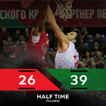 .@lokobasket are a two quarters away from securing a place in the #7DAYSEuroCup Final unless @PallacReggiana can pull off a big second-half comeback.