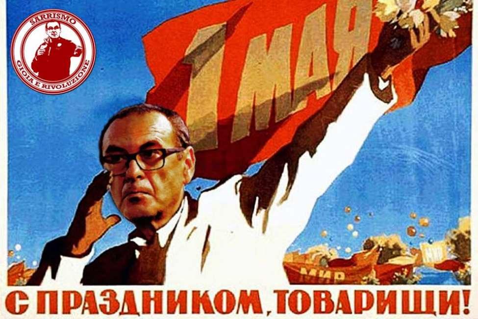 """Sarri, spopola la canzone in cui diventa leader comunista: """"La rivoluzione non si ferma"""" - https://t.co/rJsVTdQMmy #blogsicilianotizie #todaysport"""