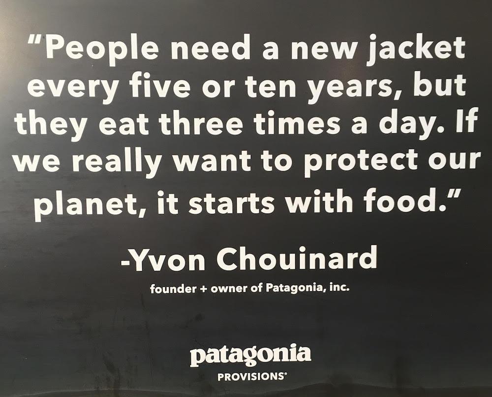 Thank you, Yvon Chouinard! -- @patagonia @PatagoniaProv @PatagoniaFlyFsh @patagoniabooks #health #wellness