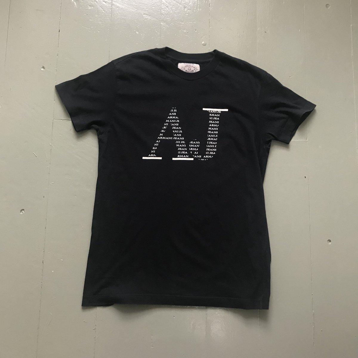 df9124e3b77a Black Armani Jeans T-Shirt Size - M Condition - 9 10 Price - £20  Black   Tshirt  Shirt  BlackShirt  BlackTShirt  Armani  Jeans  ArmaniJeans ...