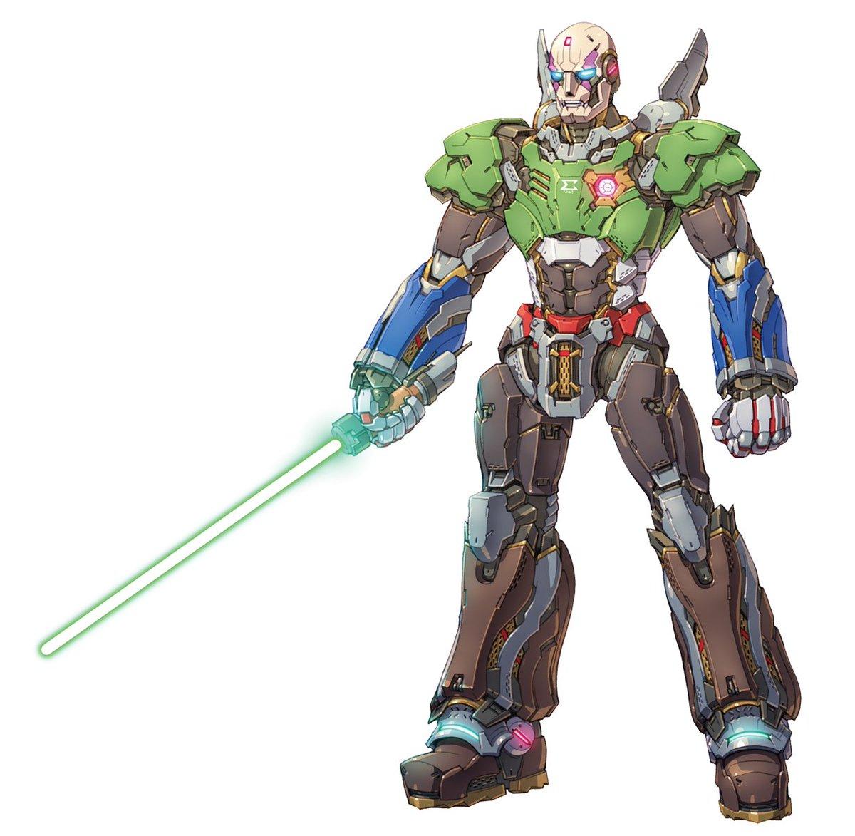 倉持さんトコのゲームロボ本用に描いたハイディテールシグマ ディテールイメージは映画版アイアンマンでした #過去絵を投げて絵を描いた気になろうキャンペーン