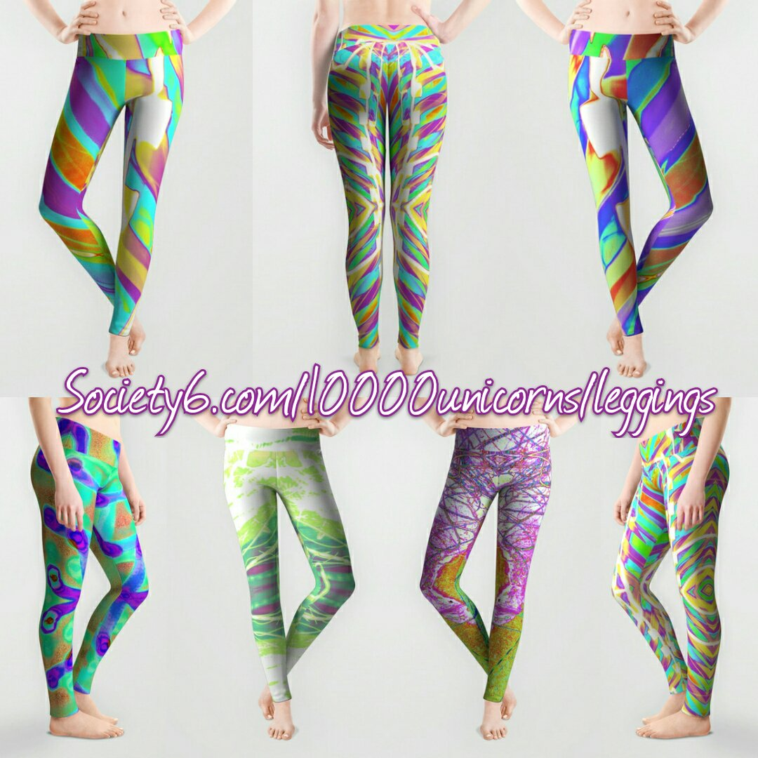 3dae150d385e6e Give your wardrobe a leg up with these #trippy light painted #leggings on my