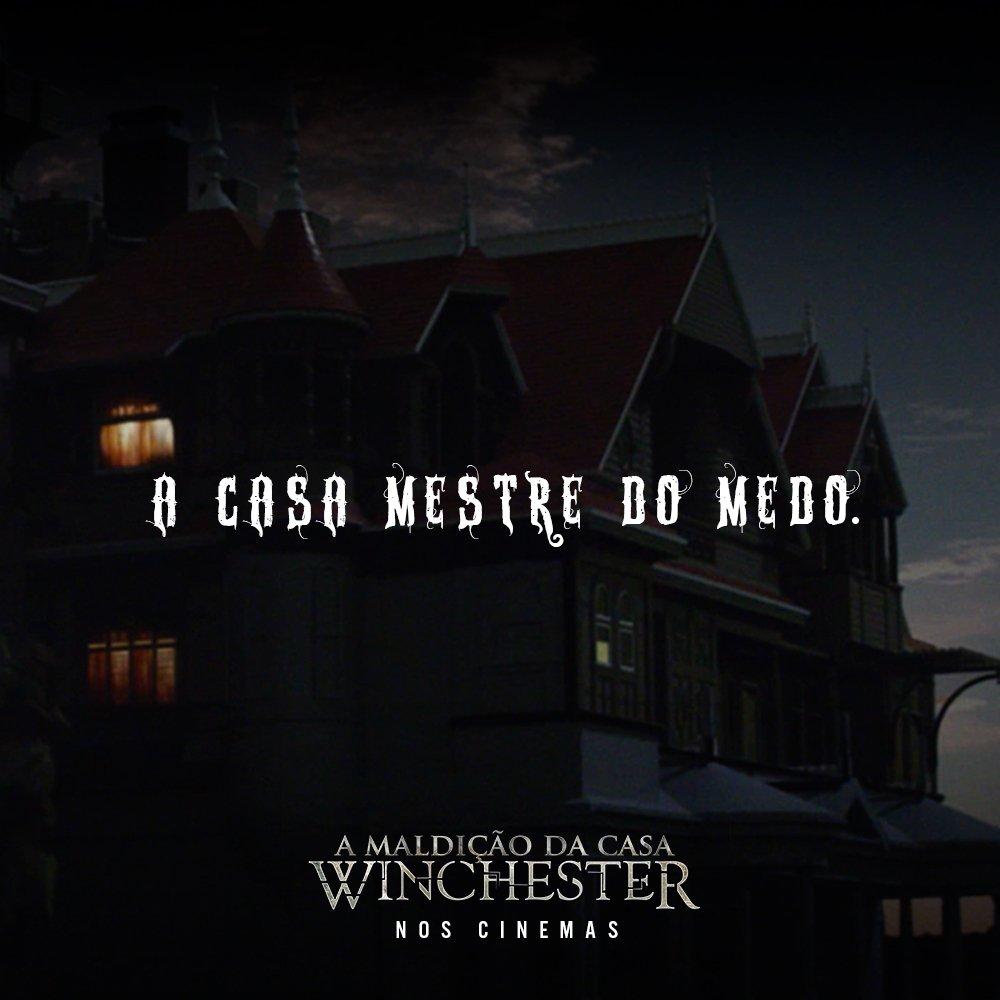 099568908e Esqueça tudo o que você sabe sobre casas amaldiçoadas. A mansão Winchester  vai surpreender você (não disse como). Assista A Maldição da Casa   Winchester nos ...