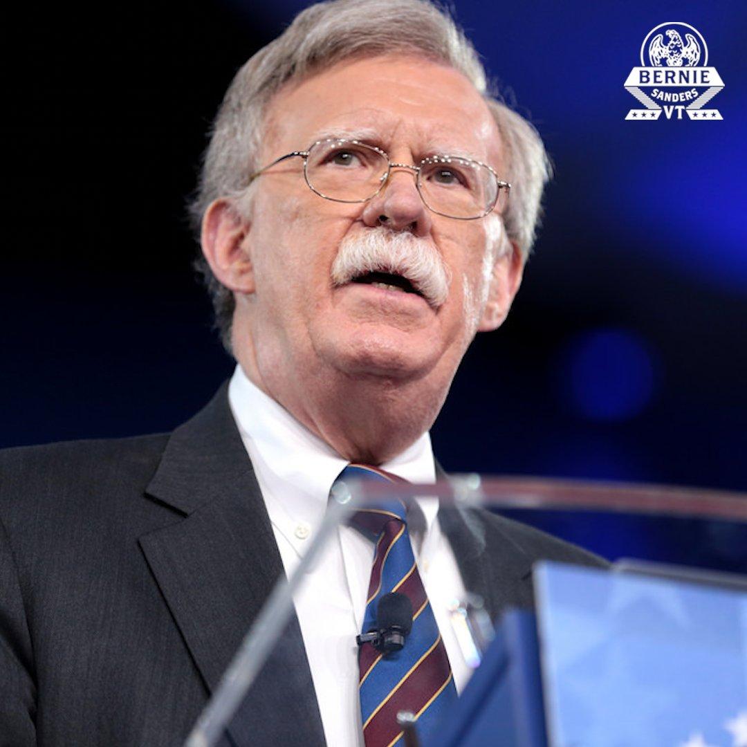 Bernie Sanders's photo on National Security Advisor