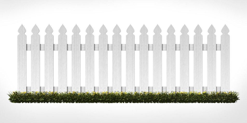 картинка белый забор белый фон этом стоит помнить