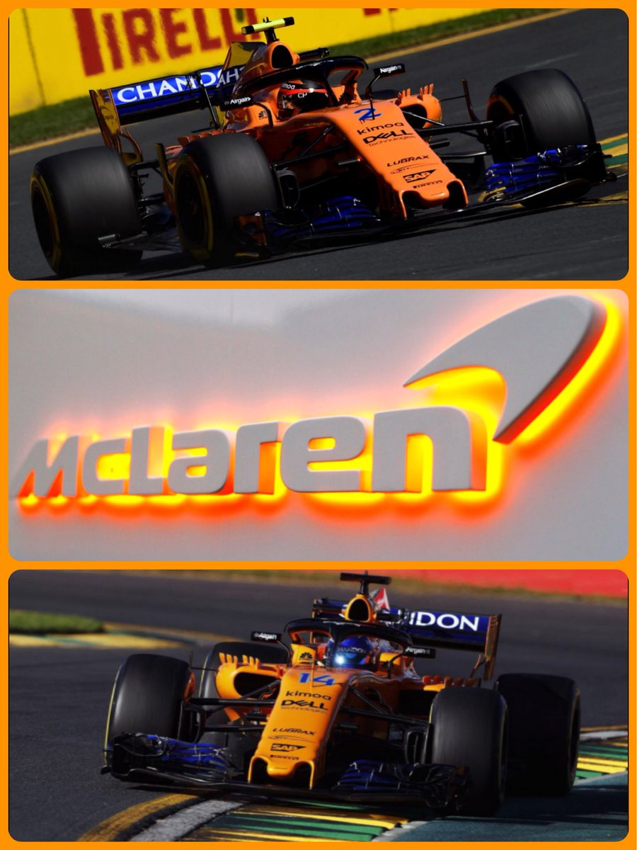 @McLarenF1 Good luck for qualifying team...