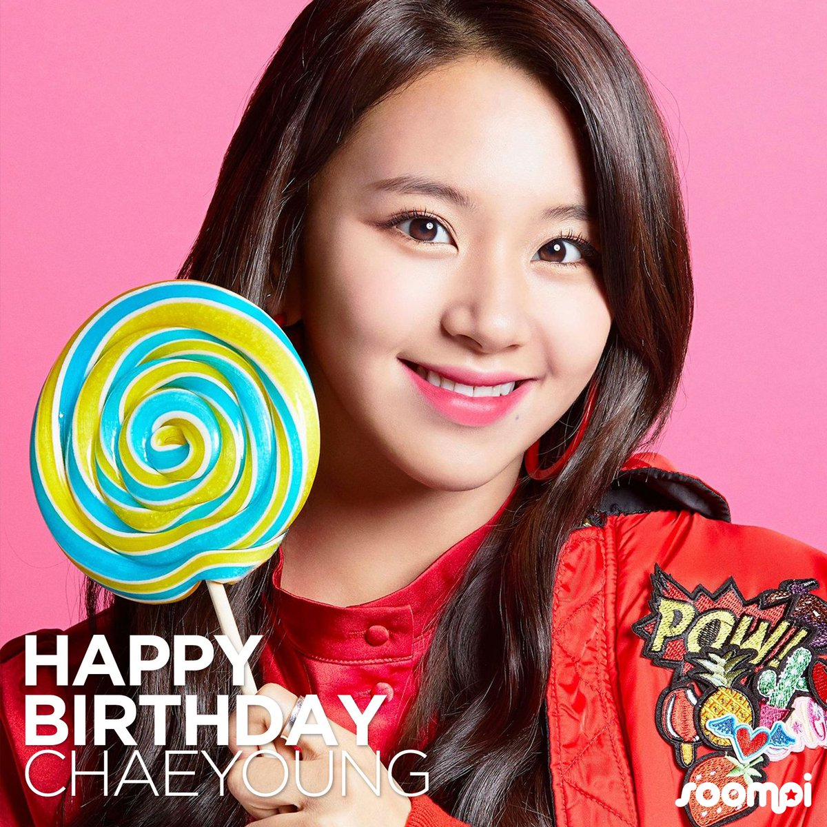 Happy Birthday to #TWICE's Chaeyoung! #H...