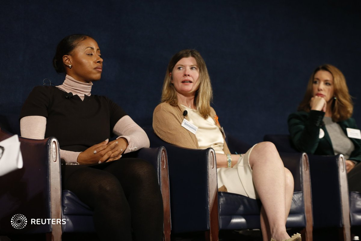 Younger generations have buying power, says Brady Campaign&#39;s @KrisB_Brown. They research what companies are doing much more closely than their parents, and CEOs understand that. Watch the #ReutersLive Newsmaker on gun violence here:  https://www. reuters.tv/l/x3A  &nbsp;  <br>http://pic.twitter.com/CfjqYqhEFY