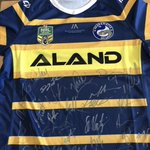 Thank you very much @JarrydHayne and the @TheParraEels for signing & organising this jersey for a very special boy who has Muscular dystrophy, you guys could of easily turned down the request after last weekend performance but I am truly thankful, it will brighten his day.