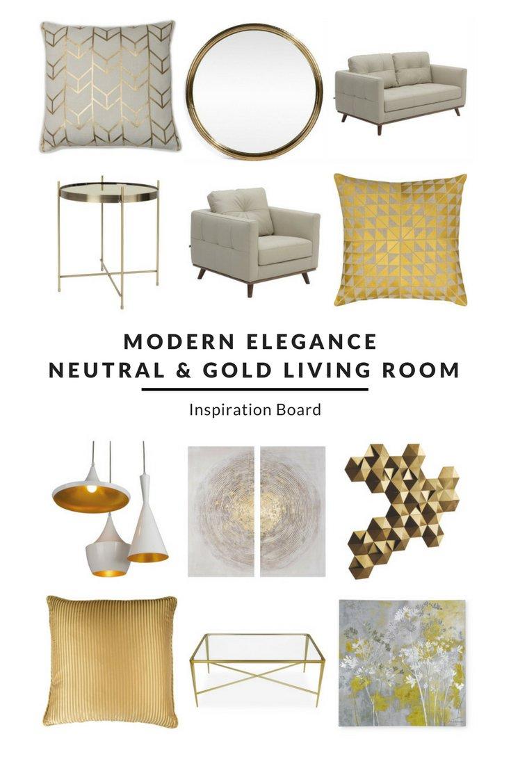 Furnishful On Twitter Modern Elegance Neutral Gold
