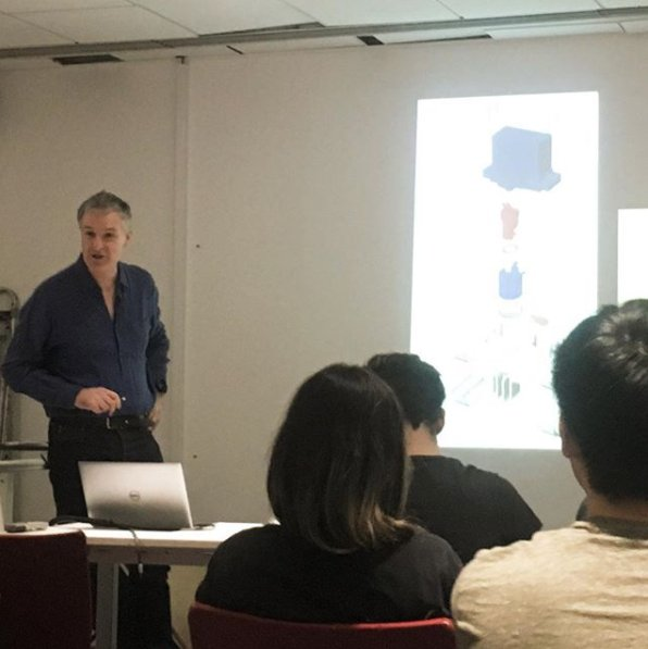 Today, we had the pleasure of hosting IDE's own Mark Sanders of MAS Design (@77a) to talk to students of IDE-2nd year about the future trajectories in their careers.   #design #engineering #designengineering #innovation #designer #famousdesigner #inspiration #talk #designtalkpic.twitter.com/n1ZlzKo2tA