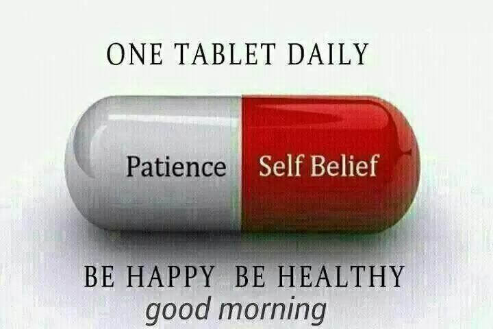 Good one in my #whatsappwonderbox this morning! I've added this capsule to my medicine chest. Will take one a day. Maybe two on some difficult days!