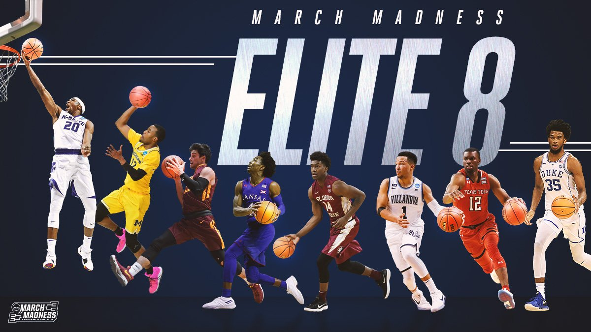 This ELITE group is moving on in March!  #MarchMadness #Elite8
